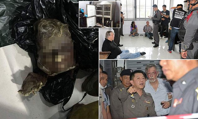 DNA tests to reveal ID of corpse found in Briton and Americans' freezerin Bangkok