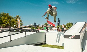 Lil Wayne is his good friend and he wants to skateboard for the US at Tokyo 2020... meet