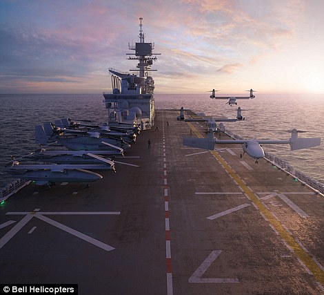 The aviation giant says the UAS is designed to provide 'unmatched long-endurance persistent expeditionary and surveillance capability and lethal reach, as well as runway independence to operate successfully in maritime environments and locations without secure runway availability.'