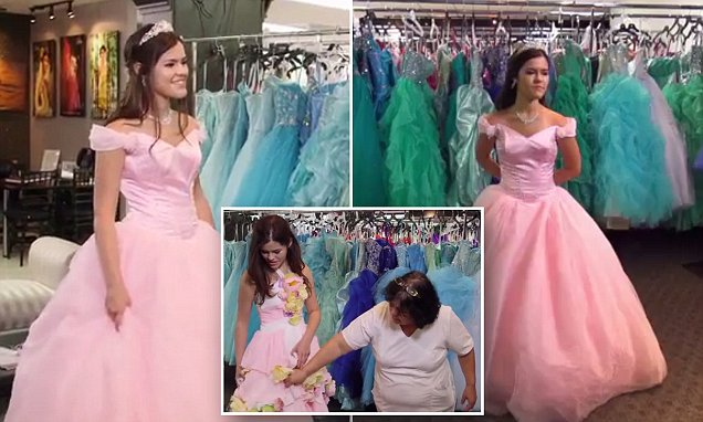 'I just decided I wasn't going to charge her': Store owner gives 15-year-old a Quinceañera