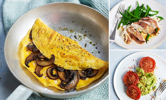 Eat to beat diabetes: Delicious dinners that are just 500 calories, quick breakfasts that