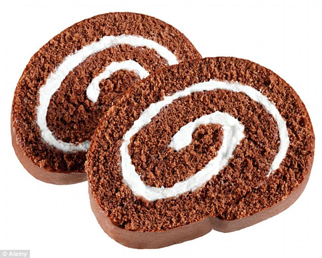 The swiss roll is one of many foods that is on the brink of extinction