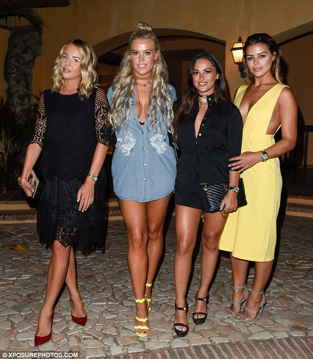 TOWIE's Chloe Lewis and Lydia Bright party away in Marbella | Daily ...