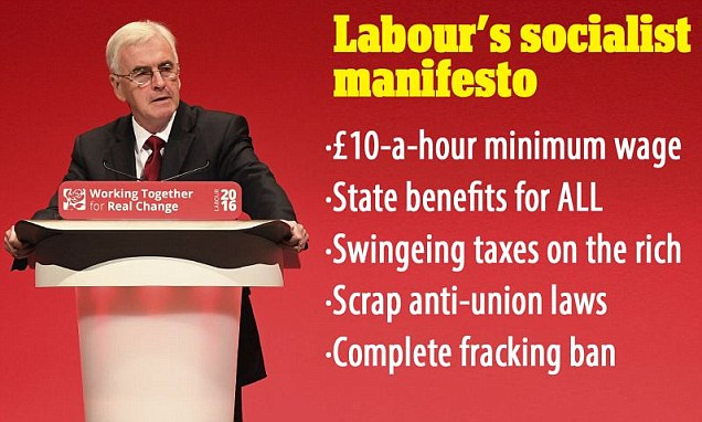 Labour in La-La-Land: Pledge to borrow £500bn, state benefits for ALL and top MP punches