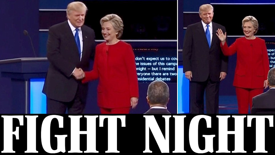 Clinton accuses Trump of saying 'crazy things' at debate
