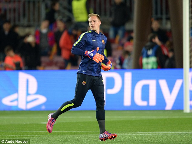 The German goalkeeper finally has first-team football at Barca and wants it to continue