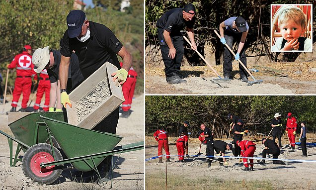 Ben Needham police discover pieces of light coloured fabric during dig to find body of