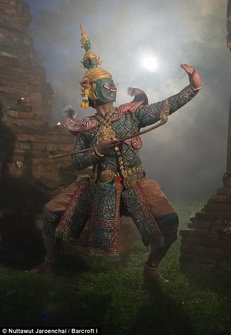 泰国孔舞Khon - wuwei1101 - 西花社
