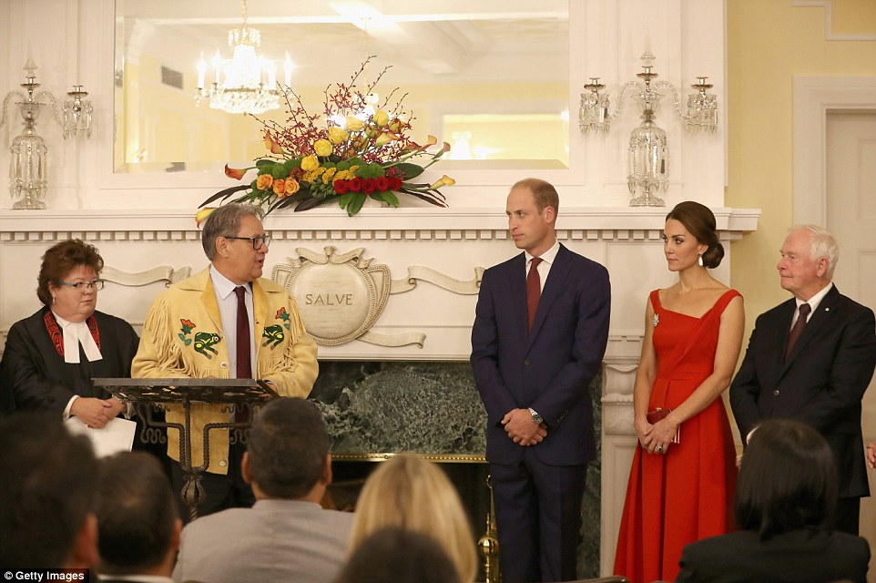 Kate Middleton Joins Prince William For Historic Ceremony